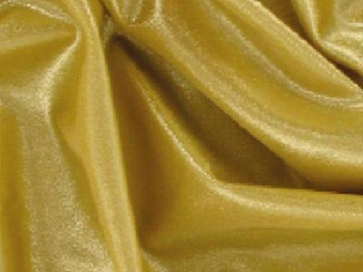 STRETCH METALLIC LYCRA GOLD