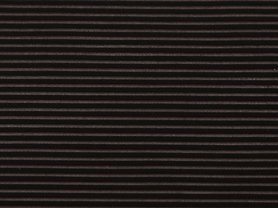 NARROW STRIPE STRETCH BLACK