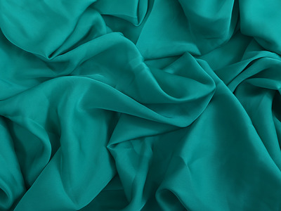 SATIN GEORGETTE JADE