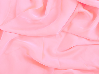 SATIN GEORGETTE SUGAR PINK