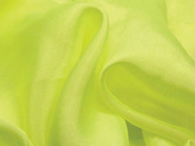 [당일발송] SATIN CHIFFON TROPIC LIME