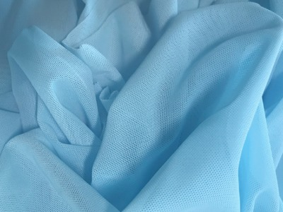 FINE STRETCH NET ICE BLUE